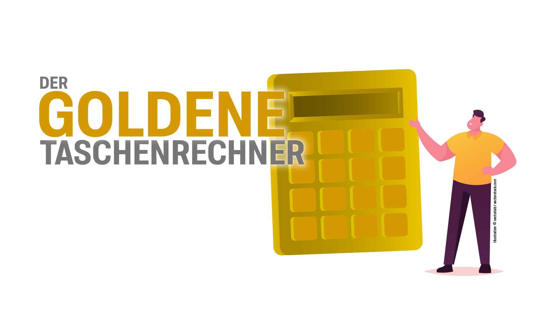 """Award """"Der goldene Taschenrechner"""""""