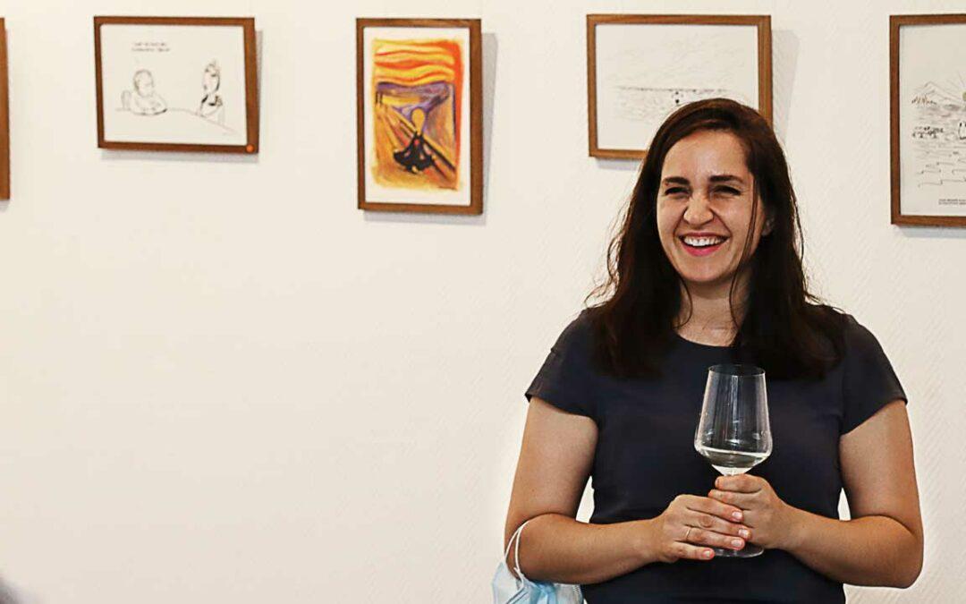 Maren Amini in Ausstellung