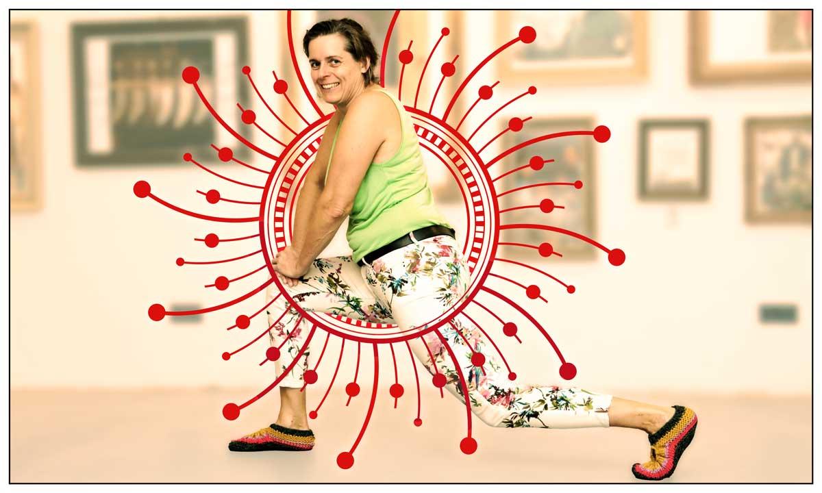 Workout mit Kirsten Grotemeyer