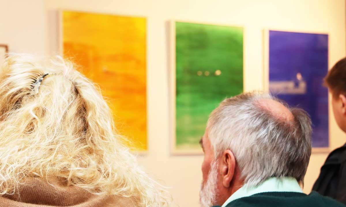 Bilder von Maren Amini mit Publikum