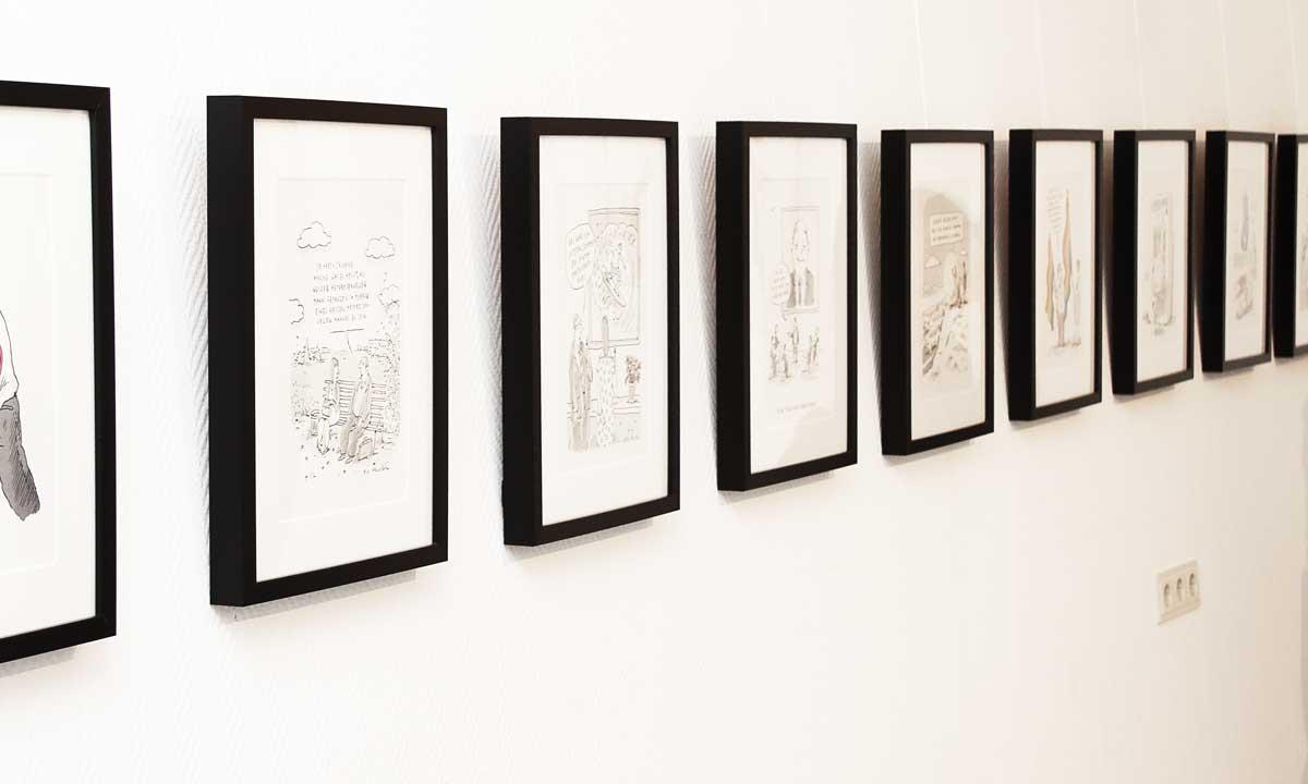 Bilder von Til Mette in Ausstellung