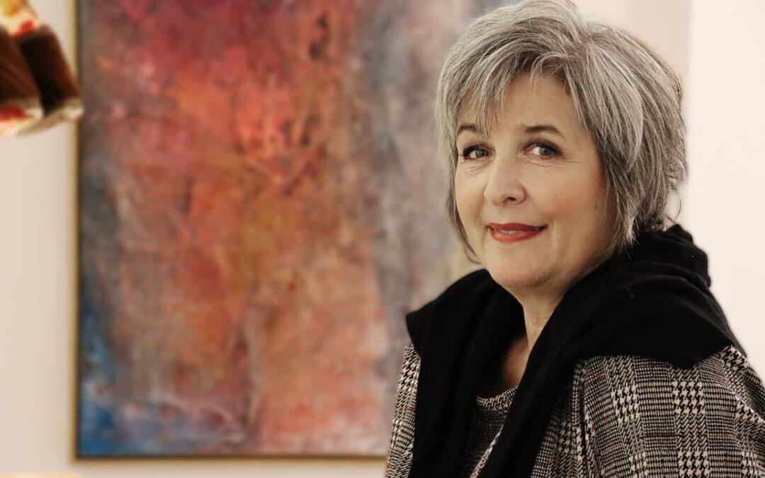 Künstlerin Bärbel Langner im Portrait